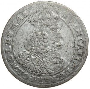 Jan II Kazimierz, ort 1658, Poznań końcówka napisu na awersie MAS
