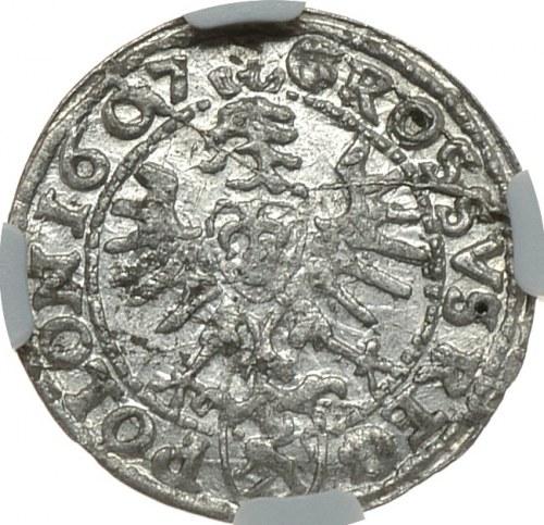Zygmunt III Waza, grosz 1607, Kraków