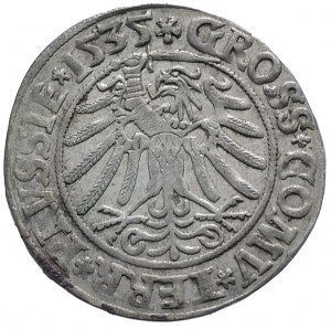 Zygmunt I Stary, grosz 1535, Toruń