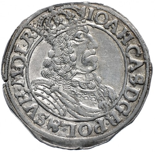 Jan II Kazimierz, ort 1661, Toruń