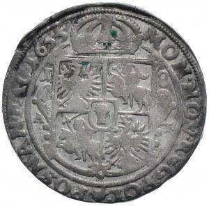 Jan II Kazimierz, ort 1655, Poznań
