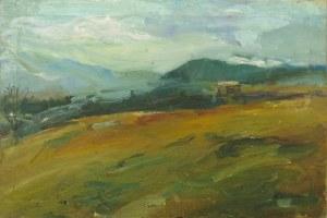 Katarzyna Kobylarz, Pejzaż górski, 2003