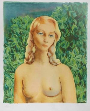 Mojżesz KISLING (1891-1953) - według, Ewa