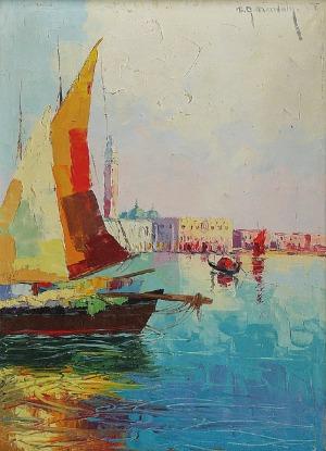 Grzegorz MENDOLY (1898-1966), Wenecja