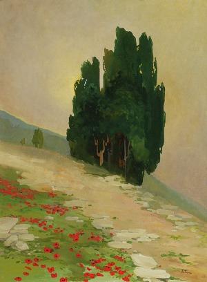 Iwan TRUSZ (1869-1940), Cyprysy