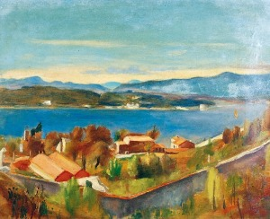 Henryk HAYDEN (1883-1970), Le Littoral - Pejzaż z zachodniej Francji
