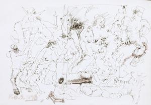 Franciszek STAROWIEYSKI (1930-2009), Szkice, 1998