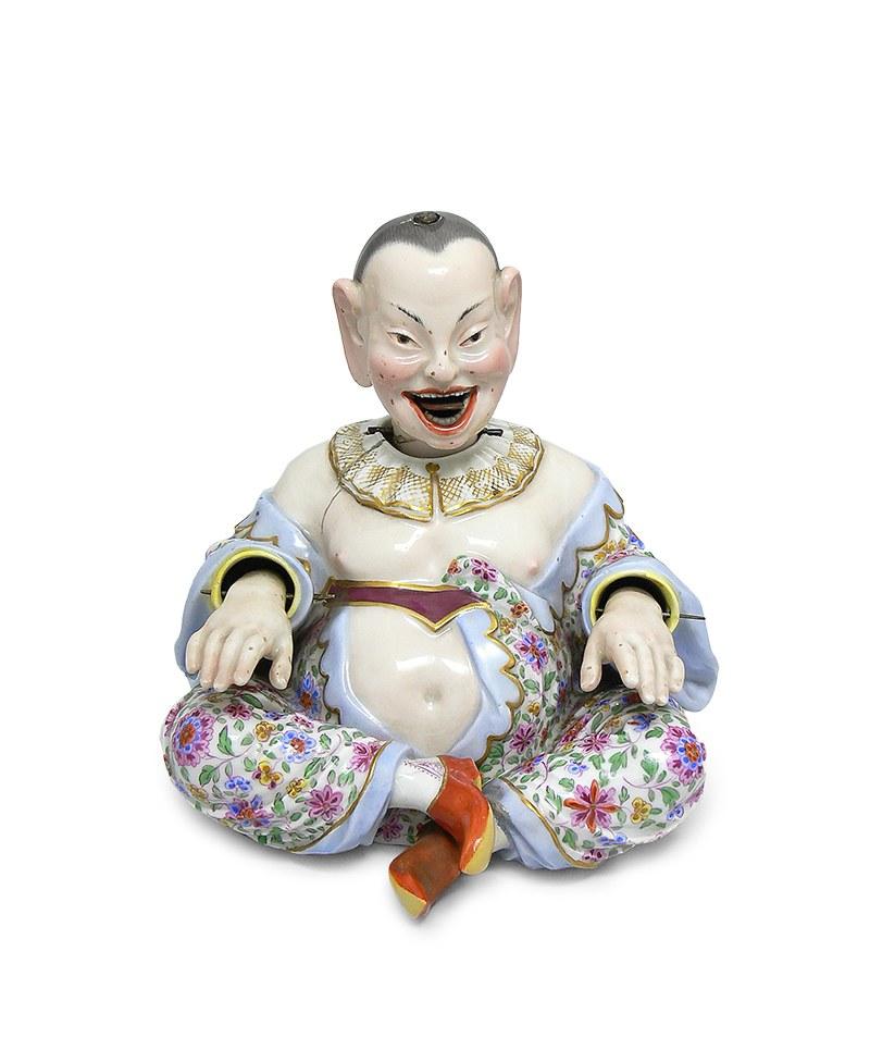 Figura śmiejącego się Chińczyka