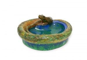 Popielniczka z wężem