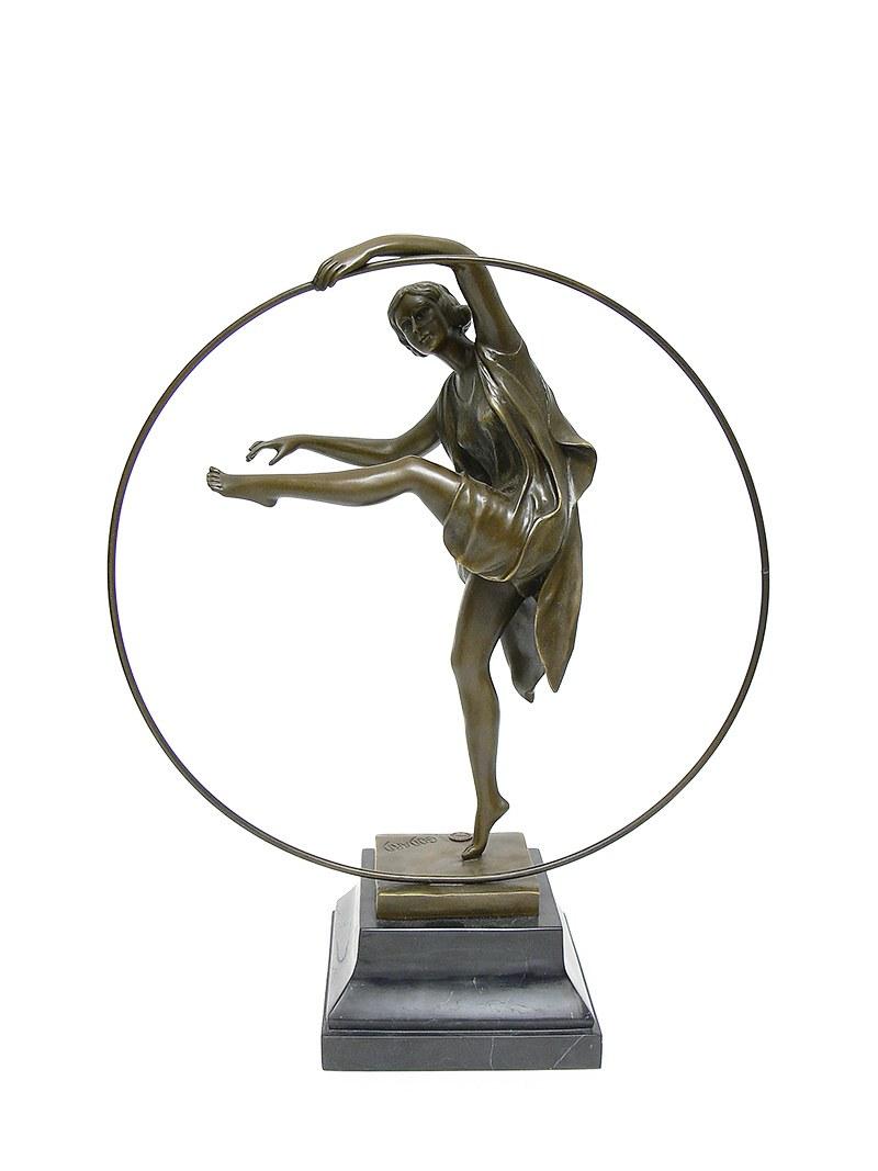 Armand Godard (XIX/XX w.) Tancerka z obręczą