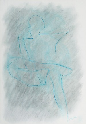 Janusz PASTWA (ur. 1944), Z cyklu: Ciała, 1996