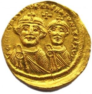 Bizancjum, solidus 616-625, Konstantynopol