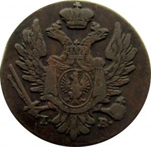 Aleksander I, 1 grosz 1824 z miedzi krajowej