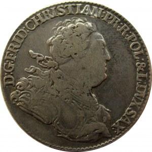 Fryderyk Christian, 2/3 talara 1763, Drezno