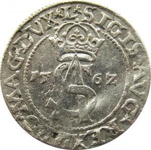 Zygmunt II August, trojak 1562, Wilno