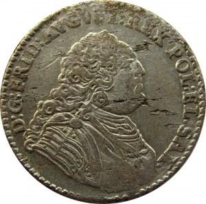 August III Sas, 1/6 talara 1763 (złotówka), Drezno