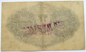 Polska - II RP, 100 marek 1919, seria BD, FALSYFIKAT