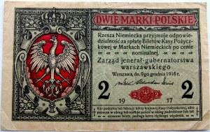 Polska, II RP, 2 marki 1917