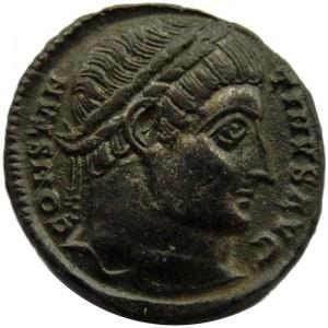 Cesarstwo Rzymskie, Konstantyn I Wielki, folis 326-328, Tessaloniki