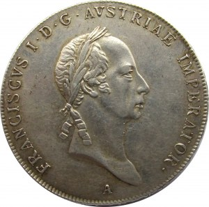 Austria, Franciszek I, 1 talar 1826 A, Wiedeń