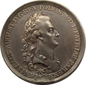 Polska, medal Stanisław Poniatowski, Terrore Libera, Uchwalenie Konstytucji 3-go Maja 1791, srebro
