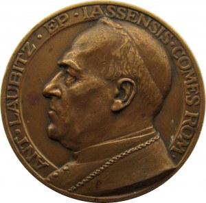Polska, medal za zasługi nad badaniem Katedry Gnieźnieńskiej, bp A. Laubitz, 1935, J. Wysocki