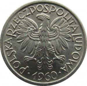 Polska, PRL, Jagody, 2 złote 1960, UNC