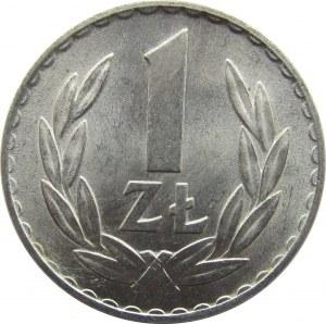 Polska, PRL, 1 złoty 1969, UNC