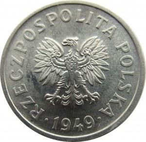 Polska, RP, 10 groszy 1949, UNC