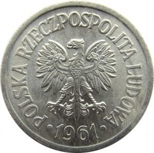 Polska, PRL, 10 groszy 1961, UNC