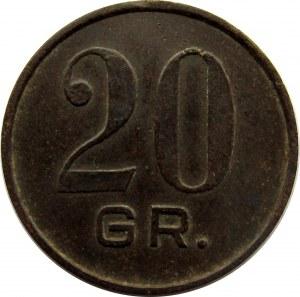 Polska, 7 Pułk Piechoty Legionów, Chełm, 20 groszy