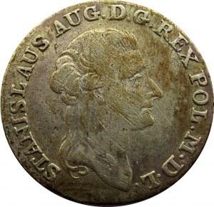 Stanisław A. Poniatowski, 4 grosze srebrne (złotówka) 1789 E.B.