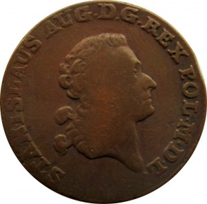Stanisław A. Poniatowski, trojak 1791 E.B.