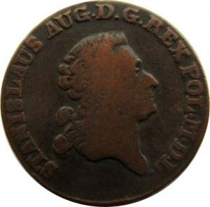 Stanisław A. Poniatowski, trojak 1784 E.B.