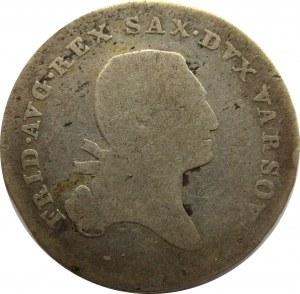 Księstwo Warszawskie, 1/6 talara (złotówka) 1814 I.B.