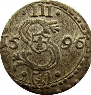 Zygmunt III Waza, ternar 1596, Malbork