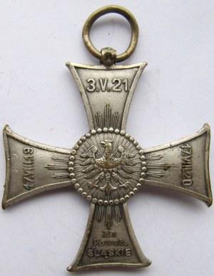 Polska, II RP - Krzyż za Powstanie Śląskie, brak wstążki