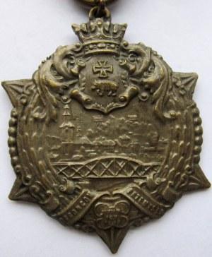 Polska, II RP, Gwiazda Przemyśla 1920, z okuciem, numerowany 8614