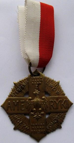 Polska, II RP, Krzyż Żołnierzy Polskich z Ameryki
