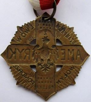 Polska, II RP - Krzyż dla powracających z Ameryki