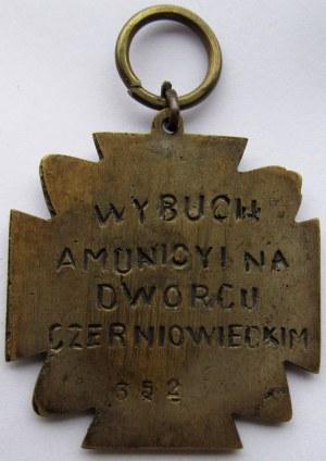 Polska, II RP, odznaka pamiątkowa Wybuch Amunicji 1919