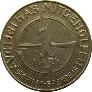 Niemcy, Żeton NSDAP, 1 Opfer-sende, 1 Marka