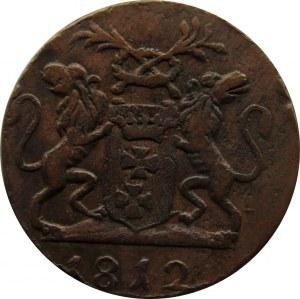 Wolne Miasto Gdańsk, 1 grosz 1812 M, Gdańsk