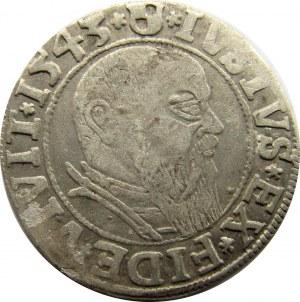 Prusy Książęce, Albrecht, Grosz pruski 1543