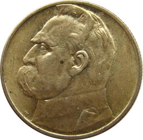 Polska, II RP, 2 złote 1934, Józef Piłsudski, UNC-