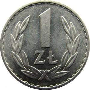 Polska, PRL, 1 złoty 1949, UNC-