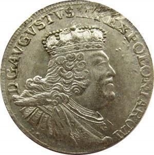 August III Sas, szóstak 1756 EC, Drezno