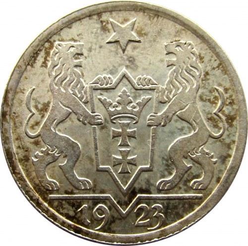 Wolne Miasto Gdańsk, 1 gulden 1923, UNC