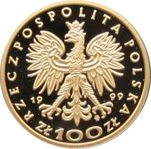 Polska, III RP, 100 złotych 1999, Zygmunt August