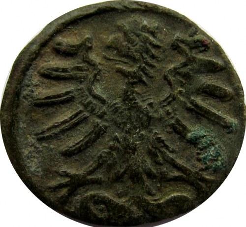 Zygmunt I Stary, denar bez daty, szable, Kraków